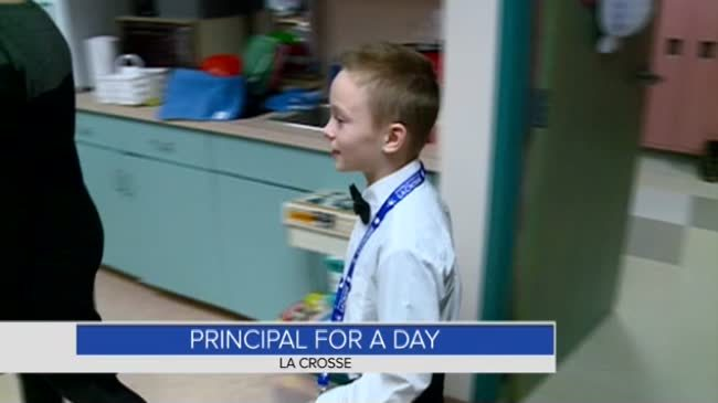 Local 5th grader gets to serve as Principal for a Day