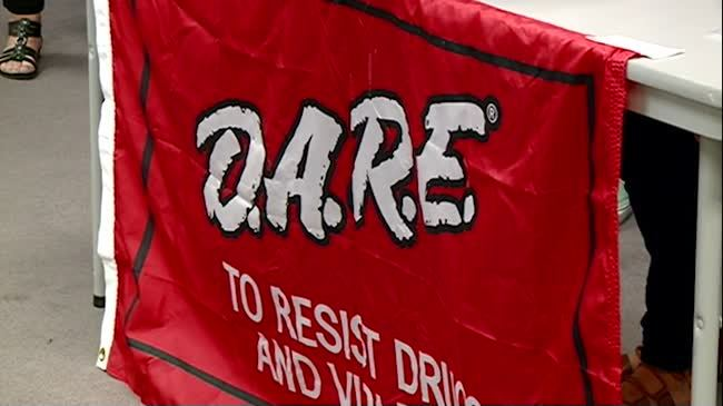 84 local student receive their DARE degrees