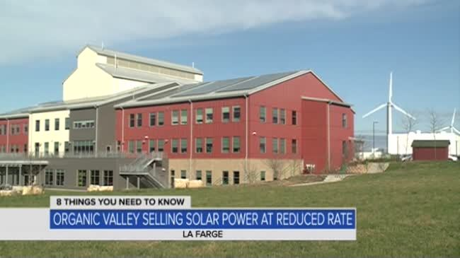 Organic Valley looks to move to 100% renewable power, pass on energy savings