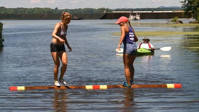 Three Rivers Roleo brings logrolling to area