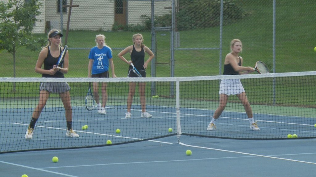 Luther tennis enjoys the pressure of maintaining a dynasty