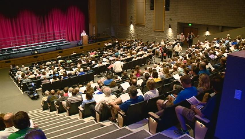 Luther High School dedicates expansion project
