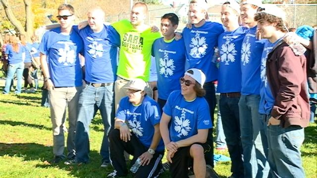 Area students volunteer for Make a Difference Day