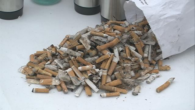 Make Our Parks Clean replaces tobacco litter with awareness