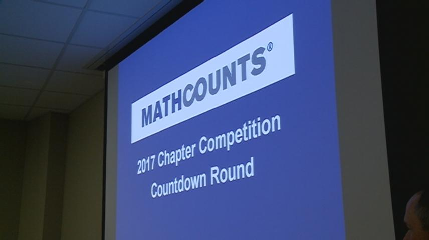 MATHCOUNTS Competition tests local students' math skills