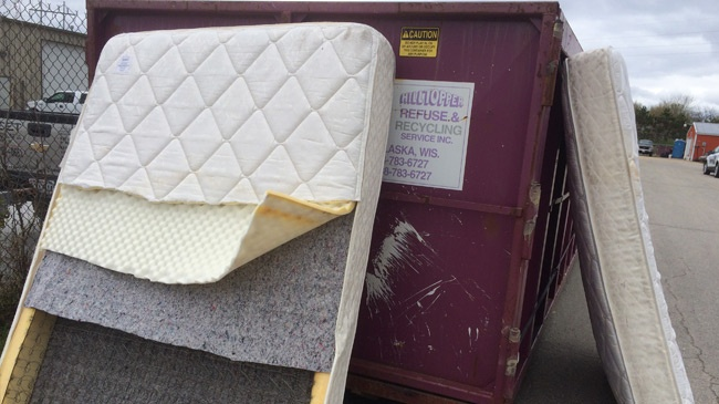 1,000 mattresses recycled at La Crosse area center
