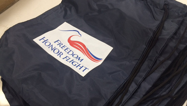 Three brothers traveling on 24th Freedom Honor Flight
