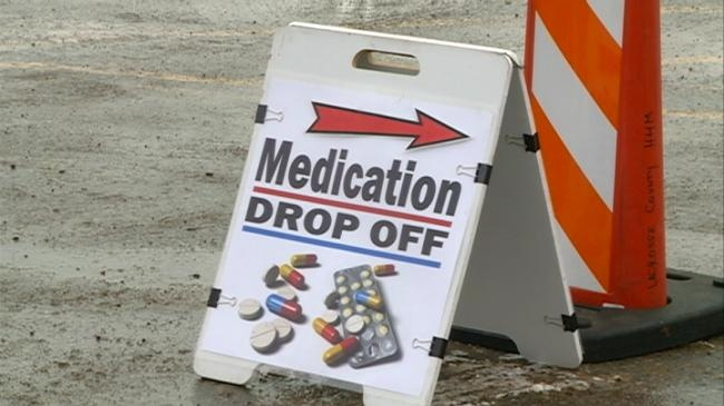 La Crosse County holds only 2015 Medication Drop Off