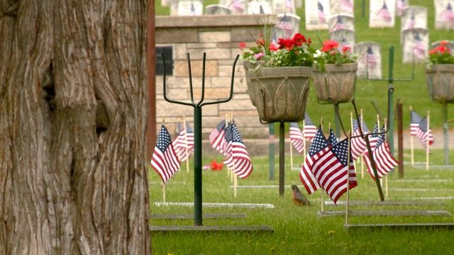 News 8 Eye Piece: Memorial Flags