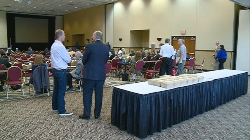 Local, state leaders talk opioid use among veterans at La Crosse Convention Center