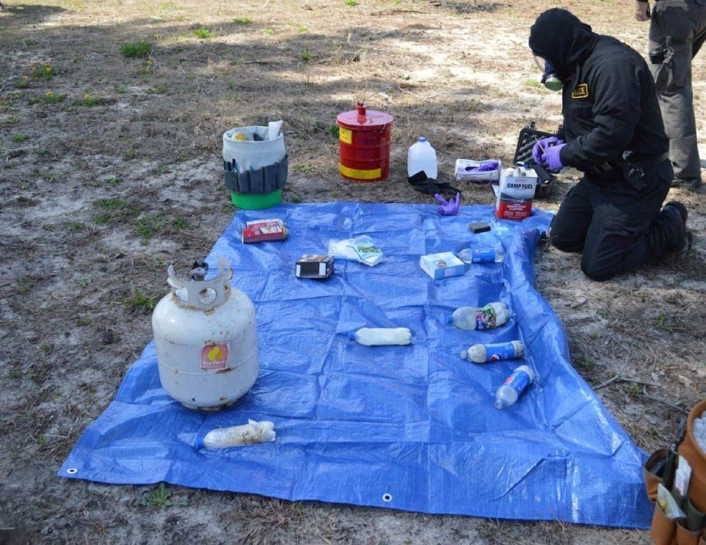 """Jackson County officials bust """"one-pot"""" meth operation"""