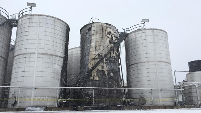 La Crosse company gives tour of damage after explosion