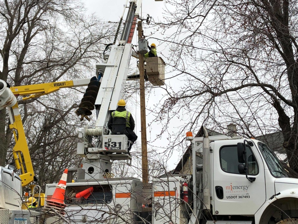 Power restored to MiEnergy Cooperative customers following storm