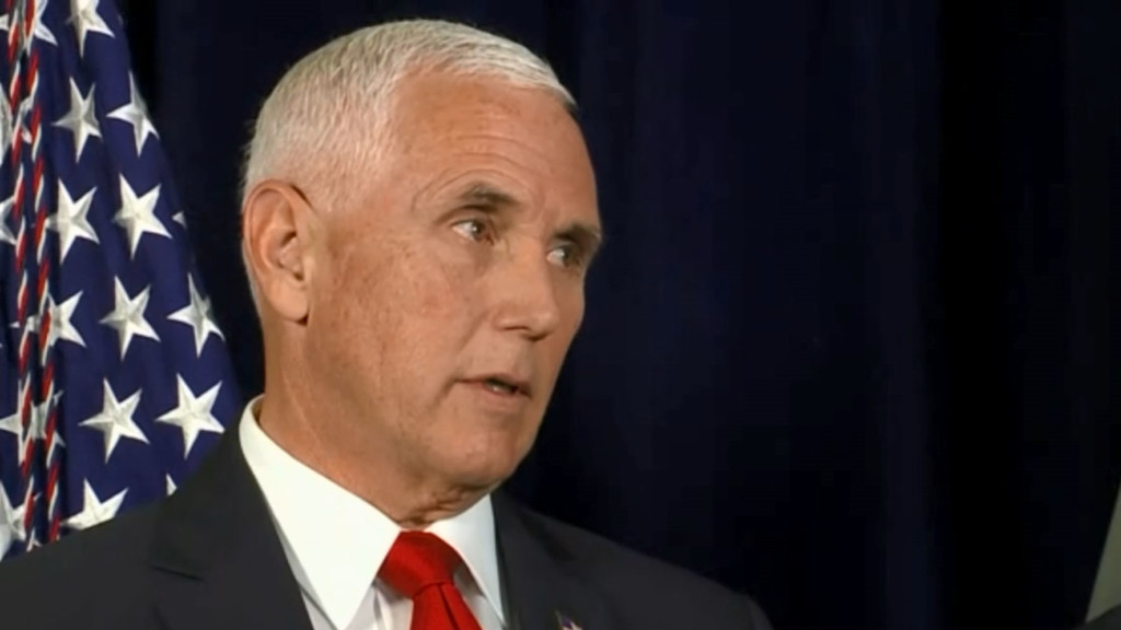 Vice President Pence is scheduled to make two stops in Wisconsin