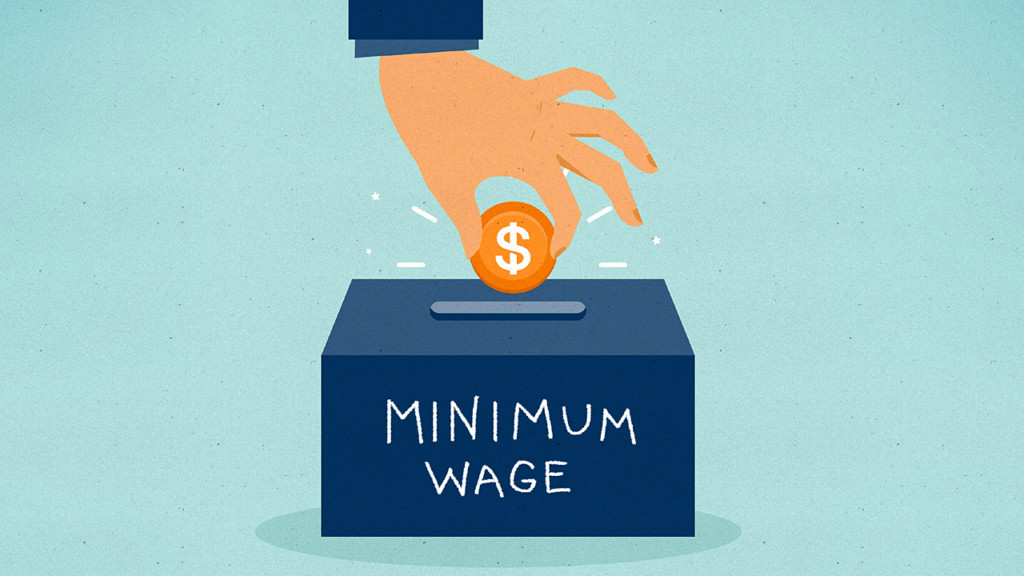 29 states have minimum wages above the federal level