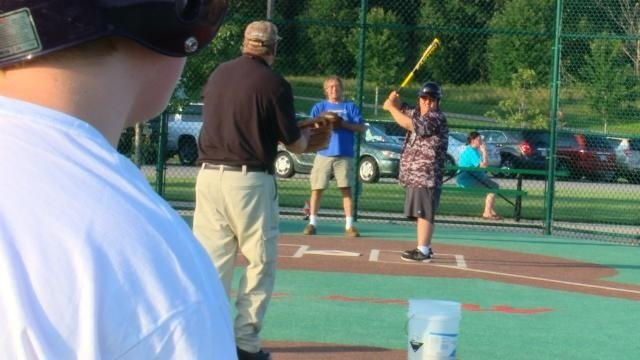 WKBT News 8 plays baseball with the Miracle League