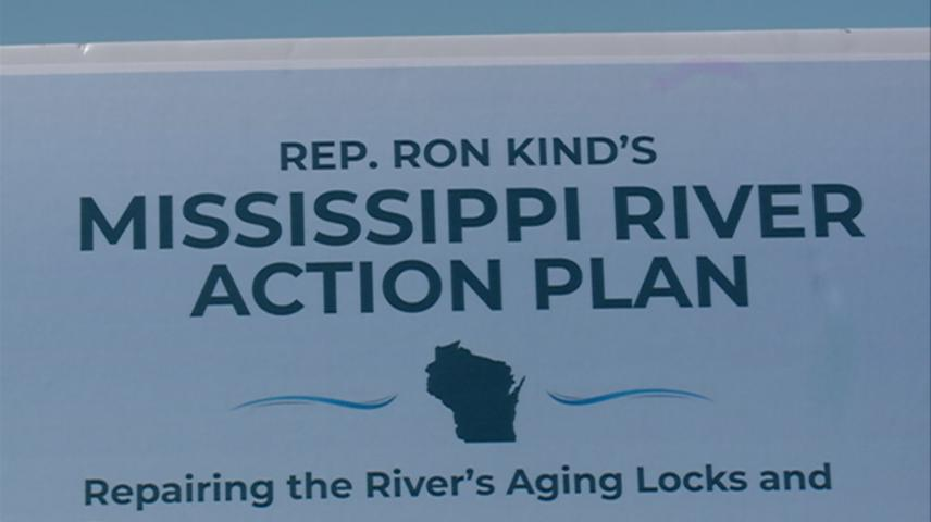 U.S. Representative Ron Kind introduces Mississippi River conservation bill