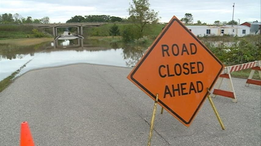 High waters in Monroe County