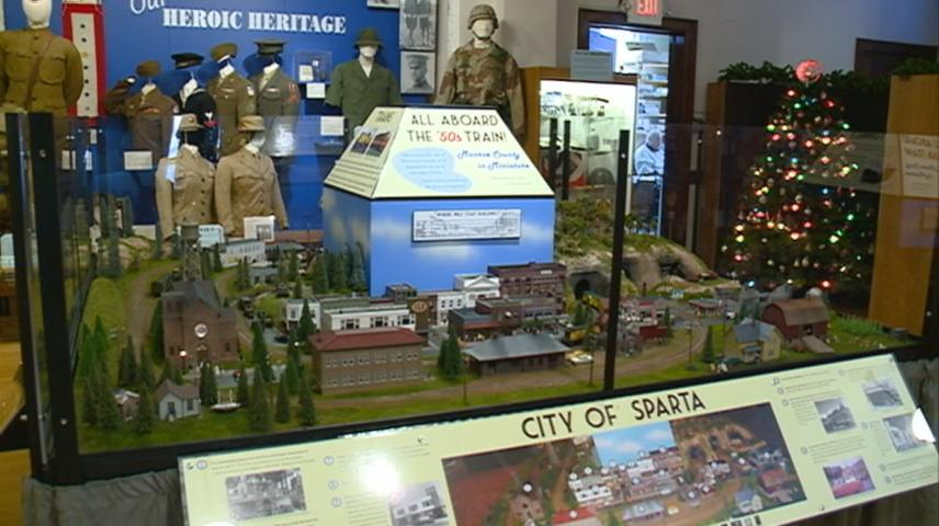 Explore a miniature version of Monroe County