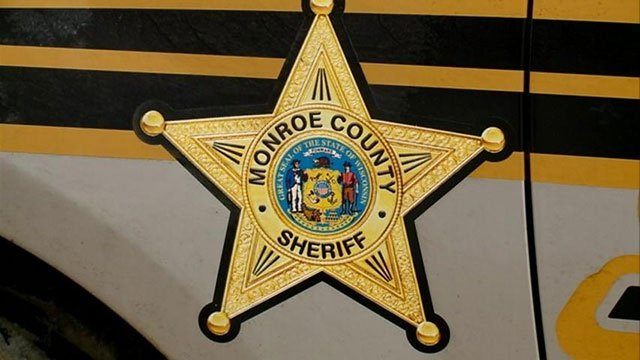 One injured after a single car crash in Monroe County