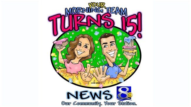 Jennifer Livingston, Bill Graul celebrate 15 years on News 8 This Morning