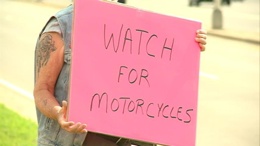 Rally raises awareness about motorcycle safety