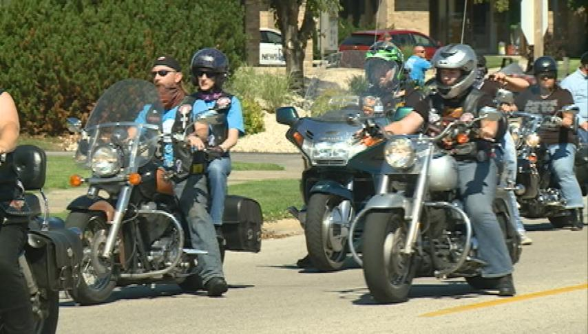 Thunder Ride to Cure Juvenile Diabetes drives through La Crosse