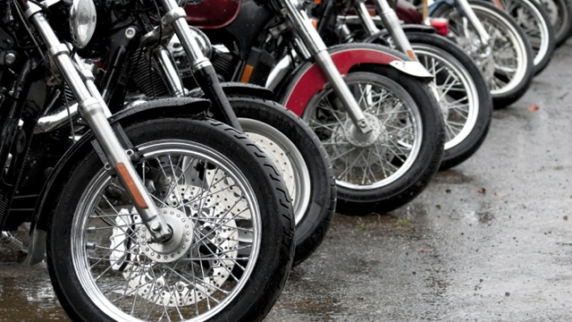 Wisconsin and Minnesota State Troopers meet for Motorcycle Safety