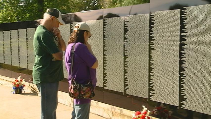 Moving wall on display in Tomah