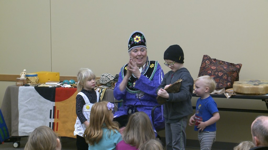 Program teaches kids about Native American heritage