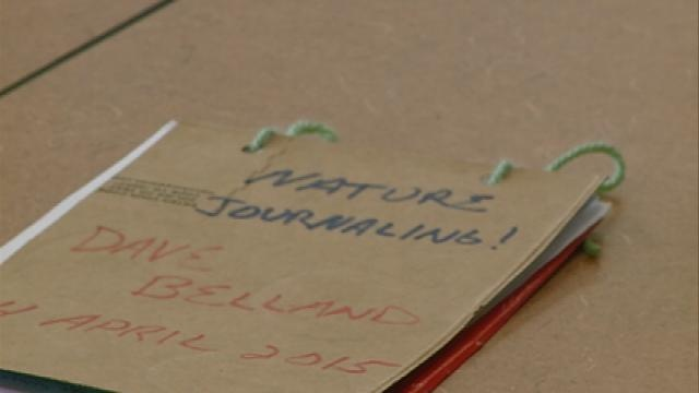 Area residents visit refuge with nature journals