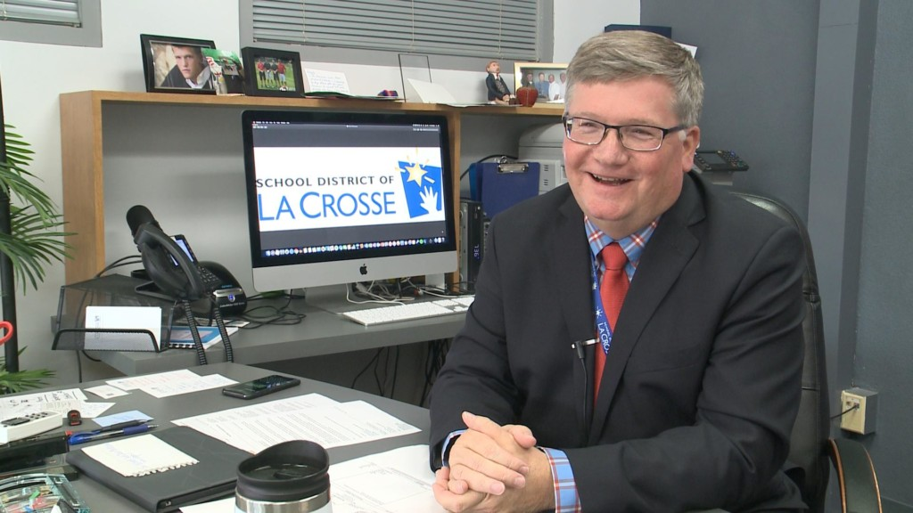 School District of La Crosse superintendent looks back ahead of retirement