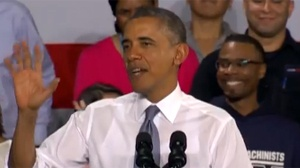 President Obama speaks of economic opportunity in Milwaukee