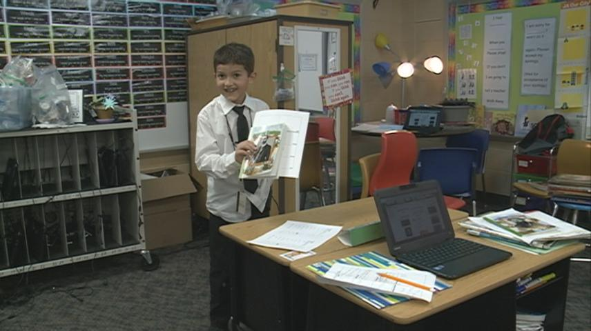 Principal for a Day takes the job in Onalaska