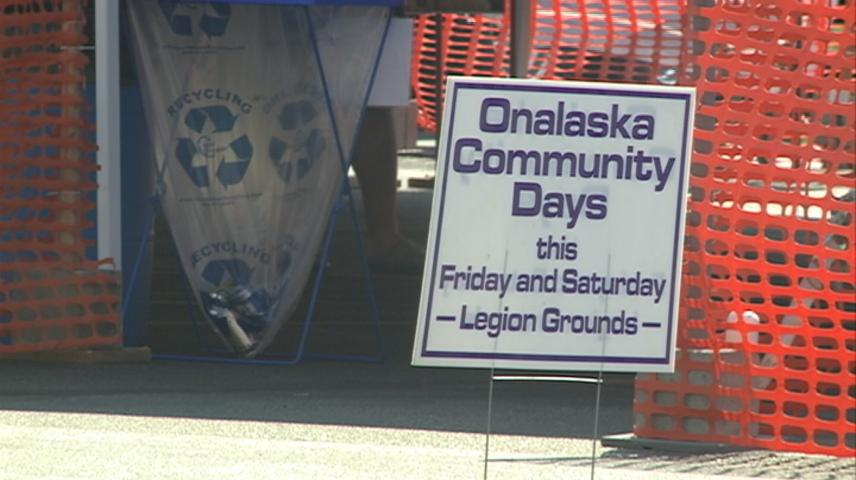 Onalaska Community Days brings fun and music to this weekend