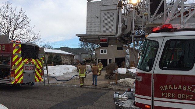 Space heater likely cause of Onalaska house fire