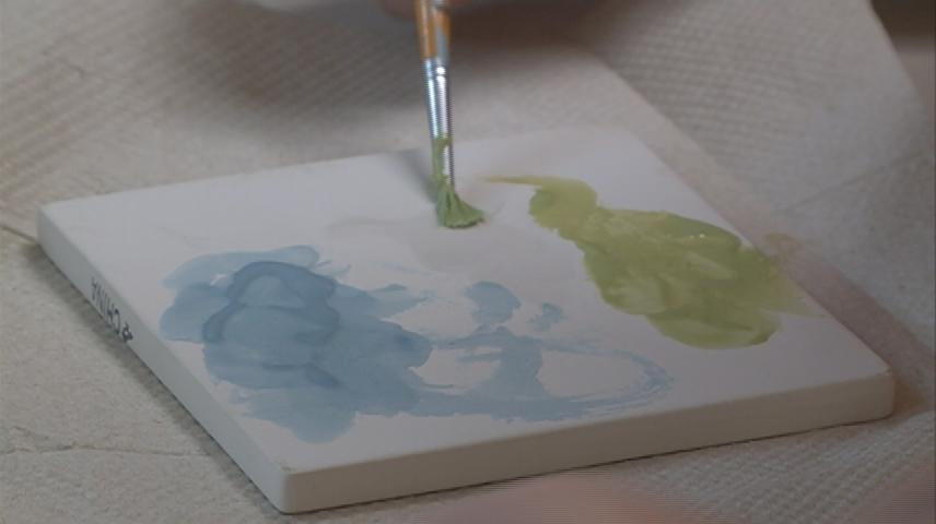 Kids decorate Gundersen Oncology Ward with personal paintings