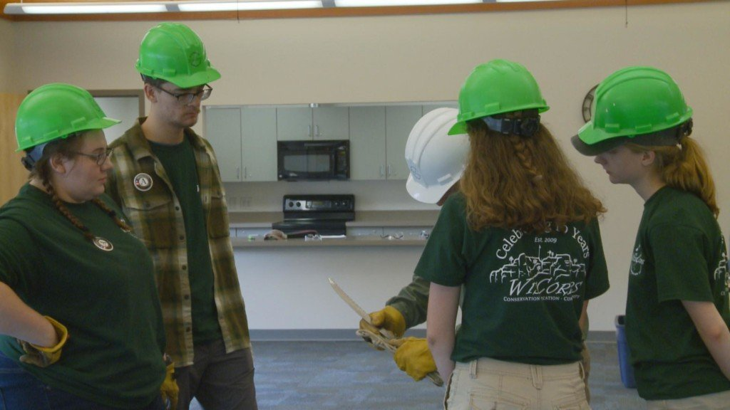 Conservation crew prepares for nature preservation camping trip