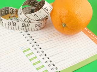 Establishing a routine to get back on track with a diet
