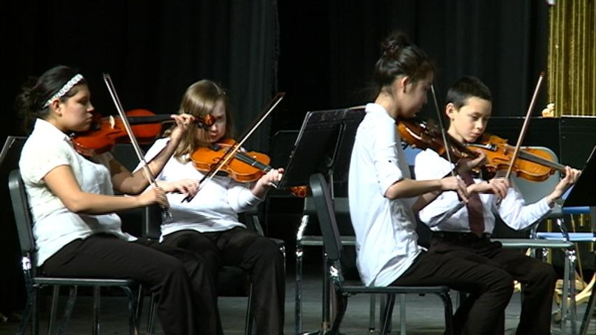Youth Symphony Orchestra features young musicians from all over the area