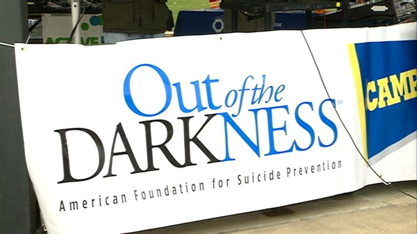 'Out of the Darkness Walk' brings mental health to light