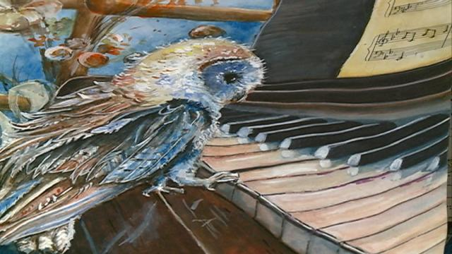 Around 4,000 art entries from all over the world sent to International Owl Center