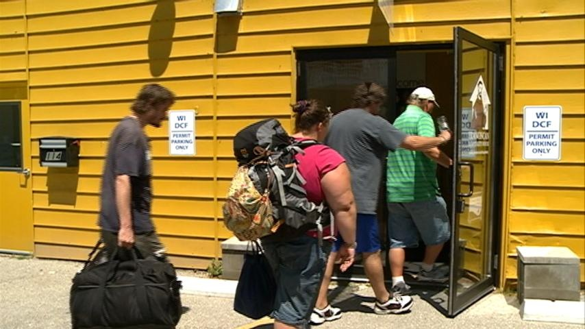 Hot temps cause area homeless shelters to fill up