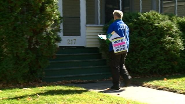Local grass-roots effort in full swing on Election Day