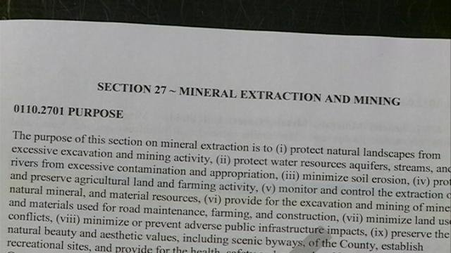 Vote over frac sand mining in Houston County is near