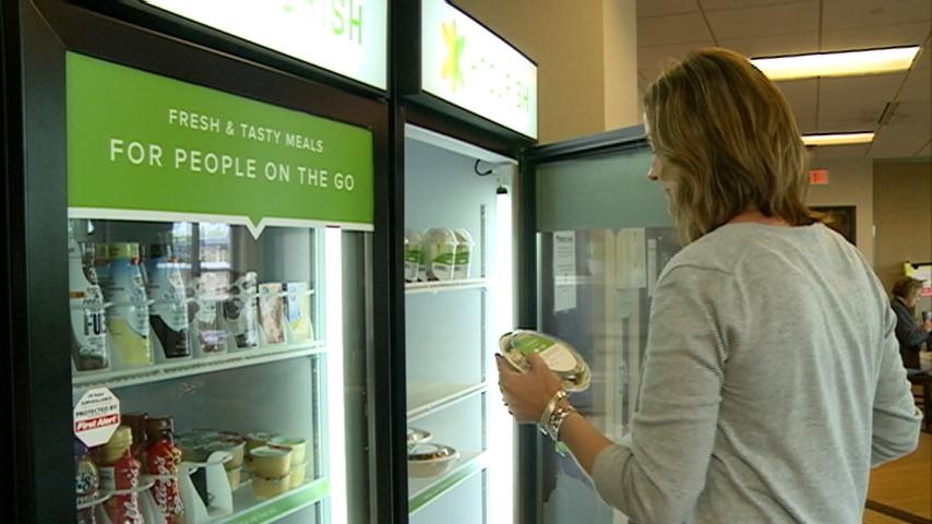 La Crosse company offers balanced meals from vending machines