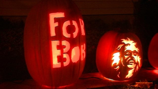 Friends help carve pumpkins to keep a family tradition alive