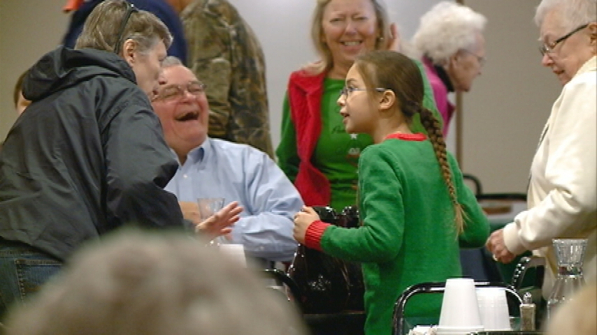 Volunteers of all ages help put on annual Sparta community Christmas dinner