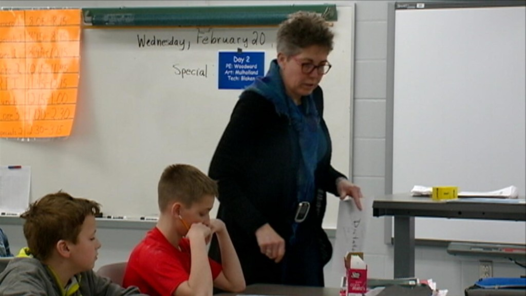 March Top Notch Teacher: Melrose-Mindoro's Janet Woodward brings coaching mentality to learning