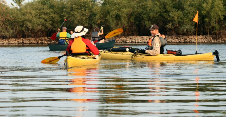 Paddle the Mississippi backwaters